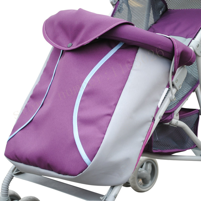 Stroller footmuff Winter baby stroller foot cover baby car thermal socks baby stroller windproof hood stroller accessories