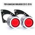 KT сделанный на заказ HID проектор комплект для KAWASAKI NINJA 650 2012-2016 HP44