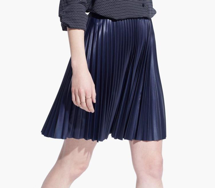 Popular Navy Blue Pleated Skirt-Buy Cheap Navy Blue Pleated Skirt ...
