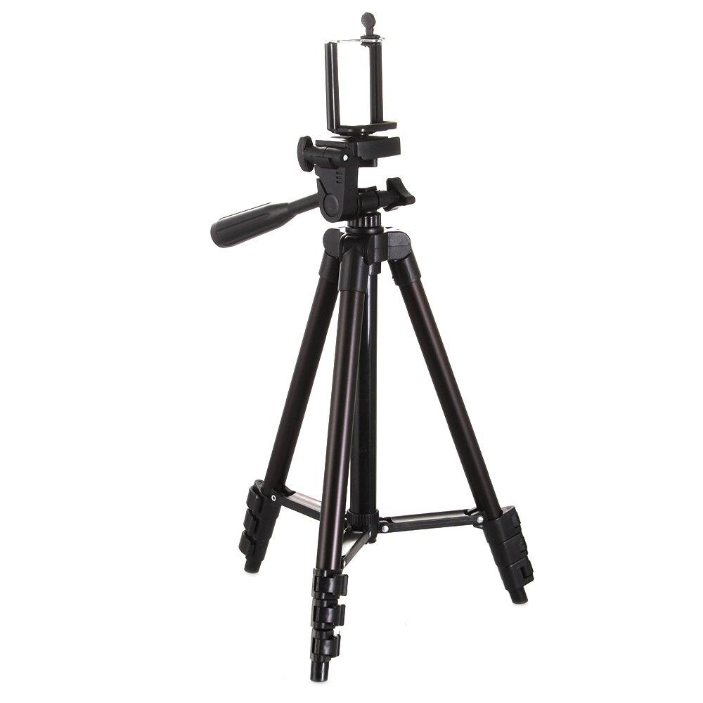 Pieds portables professionnels trépied Flexible en Aluminium pour Canon Nikon appareil photo Sony Pantex caméscope DV DSLR - 4