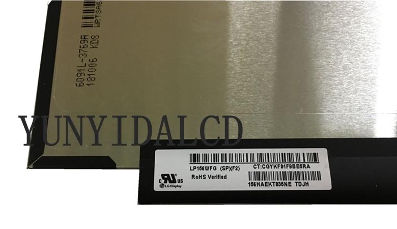 "15,6 ""LP156WFG-SPF2 lp156wfg spf2 lp156wfg (sp) (f2) ips pantalla lcd pantalla de matriz de painel 1920x1080 lgd05c0 72% cor ga"