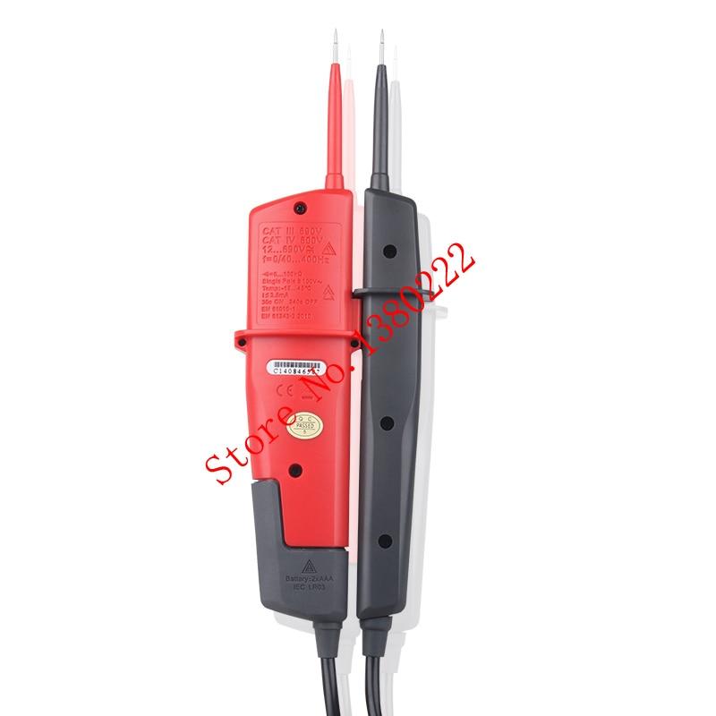 High Quality UNI-T UT18A Auto Range voltmeter Digital Voltmeter Voltage Tester Pen With LED Indication and No Battery Detection картридж сменный philips gc 025 10