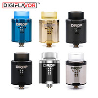 Original Digiflavor Drop RDA With BF Squonk 510 Pin Electronic Cigarette Tank Pk Peerless Rda Fit