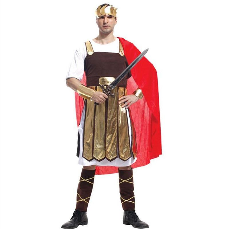 Nuevo Cosplay adulto Antiguo guerrero romano tema disfraces fiesta - Disfraces