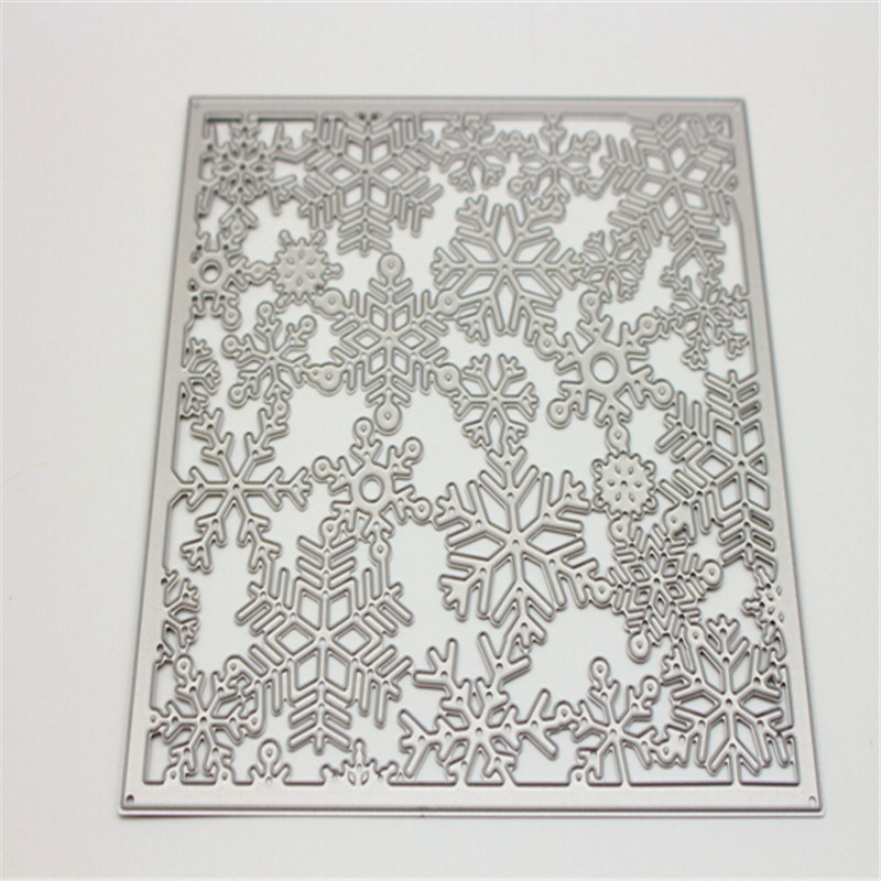 snowflake Metal Die Cutting Scrapbooking Embossing Dies Cut Stencils Decorative Cards DIY album Card Paper Card Maker m word hollow box metal die cutting scrapbooking embossing dies cut stencils decorative cards diy album card paper card maker