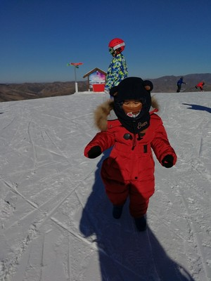 snow thickening outdoor suit 5