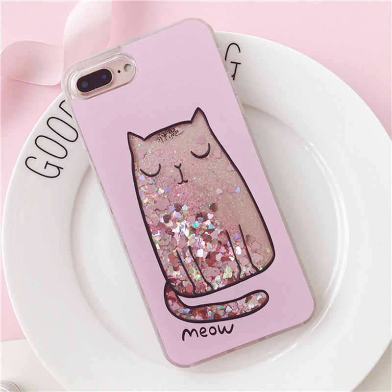 Glitter Diamond Cat Case For iPhone