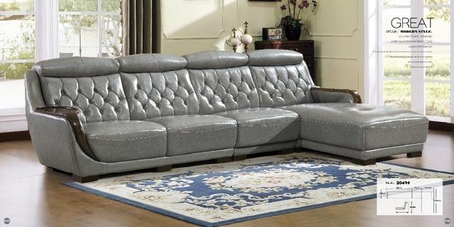 Parfait Meubles De Salon Moderne En Forme De U En Cuir Tissu Coin Sofa Sectionnel  Ensemble Conception