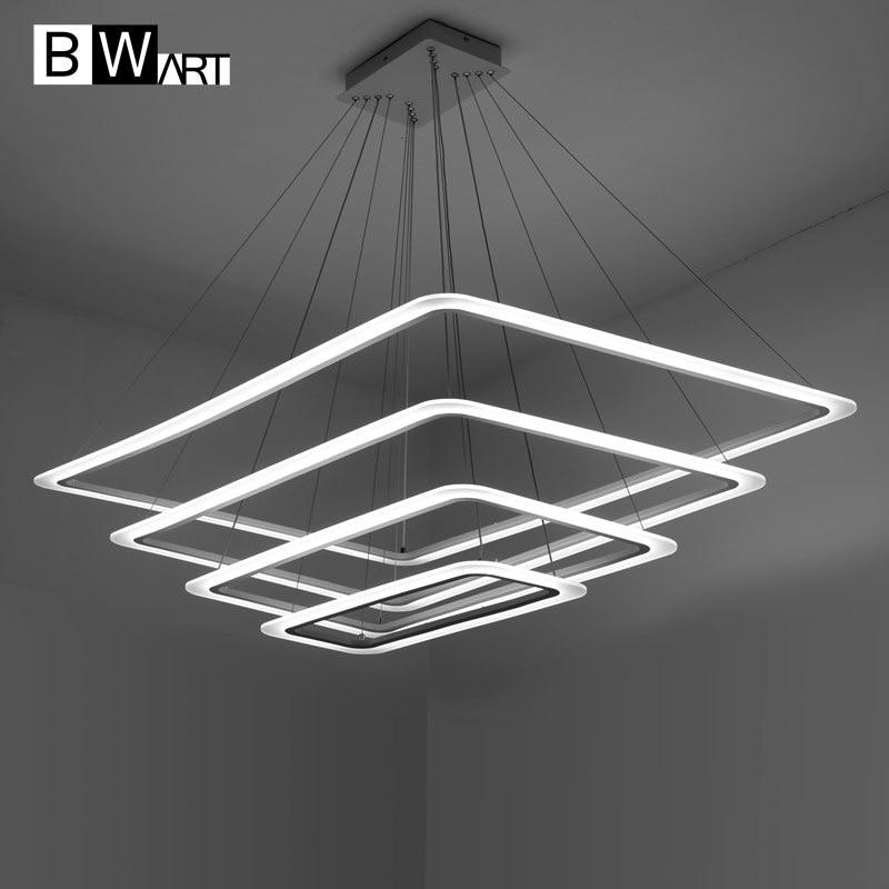 BWART Moderne LED kronleuchter Luxus Wohnzimmer led lampe Große ...
