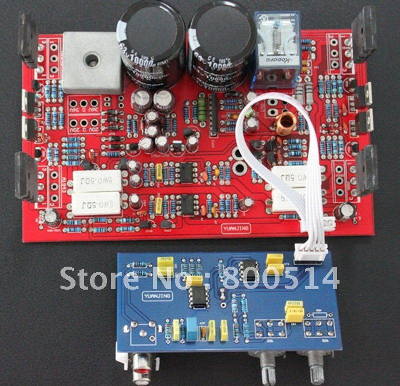 250W subwoofer Power amp board  / ASSEMBLED SUB AMP BOARD subwoofer
