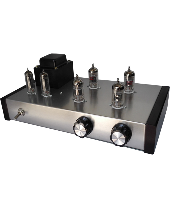 2017 New Listing 12AX7B 12AU7 Tube Preamplifier HiFi Vacuum Tube Preamp Finished DIY Kit