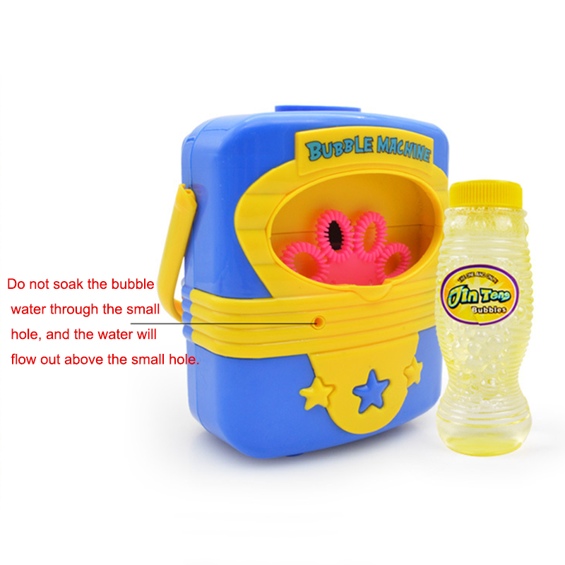 Toys & Hobbies Strong-Willed Funny Ass Bubble Machine Fully-automatic Bubble Wind Gun Outdoor Toys Blower Wedding Maker Party Summer Outdoor Toy For Kids