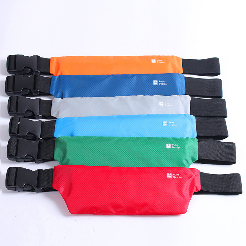 Solid Multi Functional Waist Bag Unisex Packing Phone Money Belt Bag For Men Women Waterproof Fanny Packs Anti-theft Travel Bags