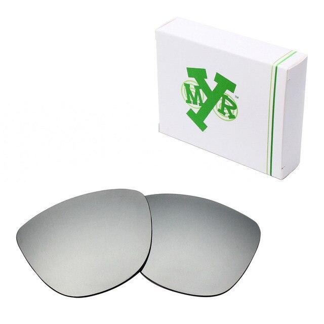 MRY ПОЛЯРИЗОВАННЫХ Сменные Линзы для Oakley Frogskins Солнцезащитные Очки Серебро Титана
