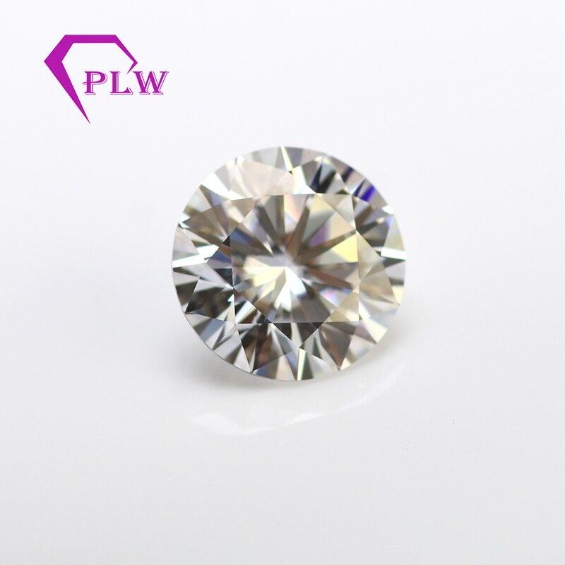 Excellent quality GH color 1 carat 6.5 mm piece/pcs VVS lab grown diamond round shape brilliant cut Moissanite look like cvd