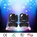 (2 peças/lote) Bolso profissional Americano DJ Stage Luz CREE 10 W Led Moving Head led Display LCD Cor Girando Gobo Roda
