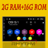 Rhythm Support Dab 2 Din Android 6 0 Car No DVD Player GPS Wifi Bluetooth Radio