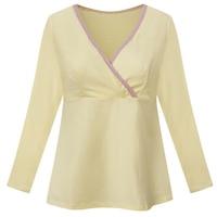 Maternity Nursing clothes top dress breastfeeding shirt Nursing pajamas nightwear breast feeding tops clothes for pregnant Women