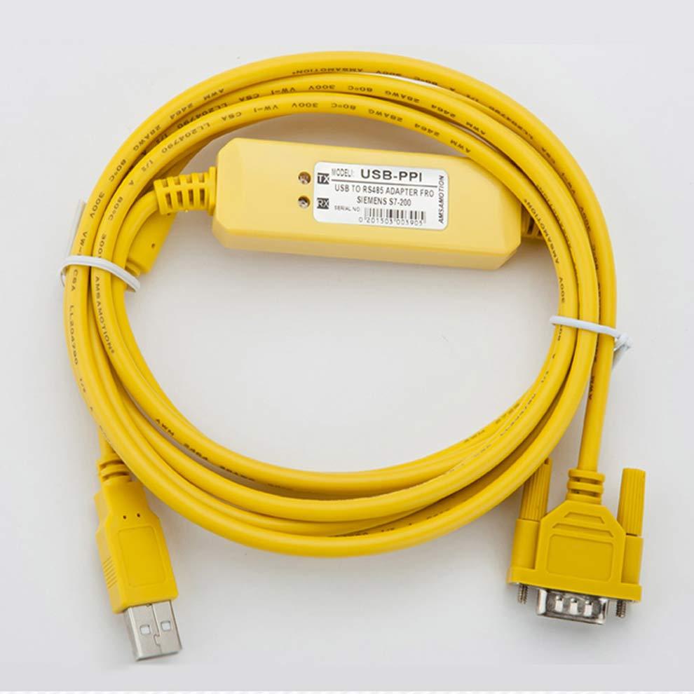 5piece A Lot USB-PPI Programming Cable 6ES79013DB300XA0 Adapter Suitable Siemens S7-200 PLC USB PPI Communication Cable communication cable for servo drive mr cpcatcbl3m cable mr j2s a