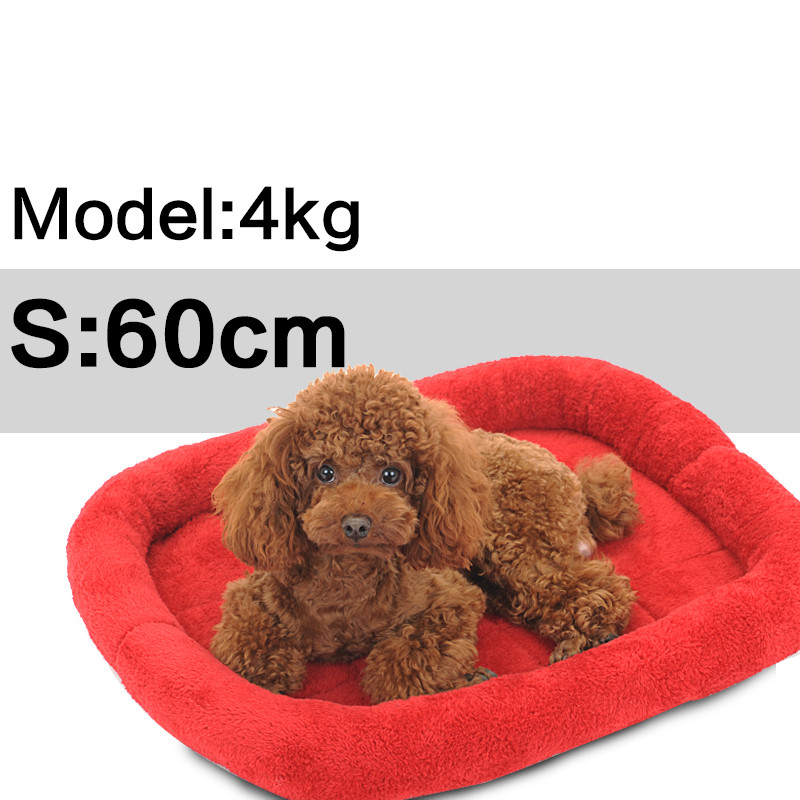 Super Dog Beds For Large Dogs Warm Cat Sleeping Mat Huge Mattress Cushion Autumn Winter Pet House Free Shipping In Houses Kennels Pens From