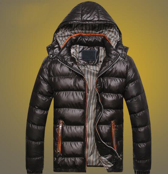 Edler Schmuck Shiny Herren Winter Parka Männer Baumwolle Jacke Mode Brot Kleidung 2019 Herbst Plus Größe Herren Mit Kapuze Padded 5xl 4xl Xxxl Silber