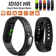 10 шт. Smart Band ID101 Bluetooth браслет сердечного ритма Мониторы спортивные часы Фитнес трекер для IOS 7 против SmartBand ID107 Ми Группа 2