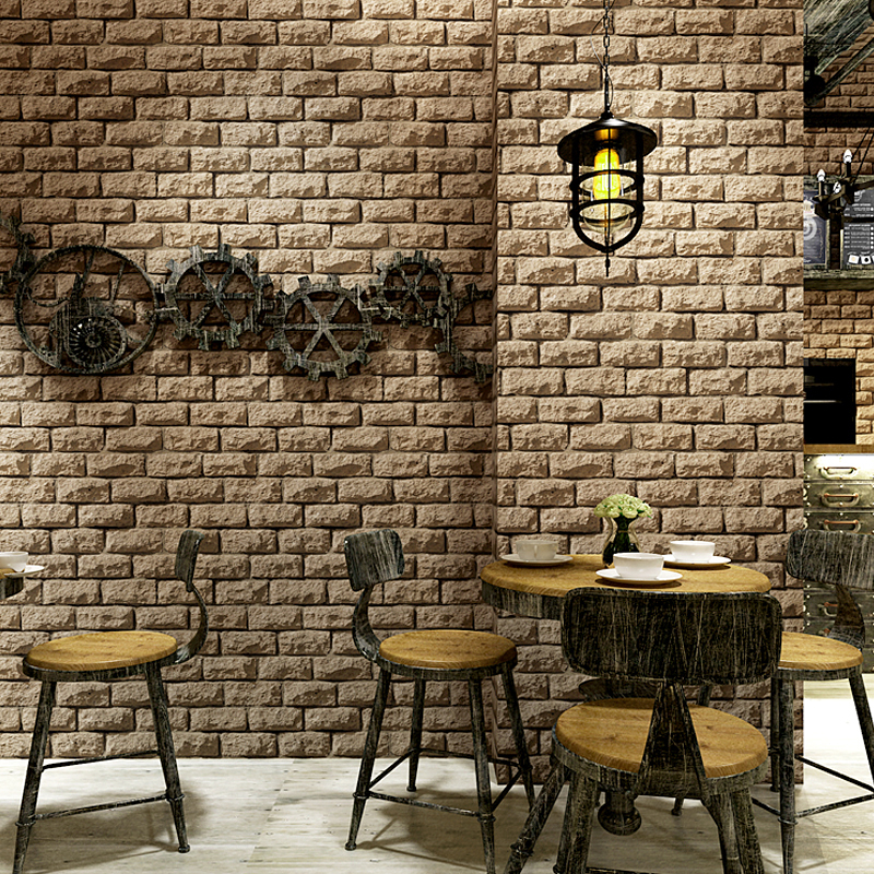 Aliexpress.com : Buy Vintage Wallpaper 3D Embossed Brick