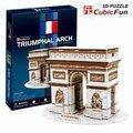Кэндис го! 3d-головоломка игрушка CubicFun бумажная модель головоломки игра emulational франция триумфальная арка