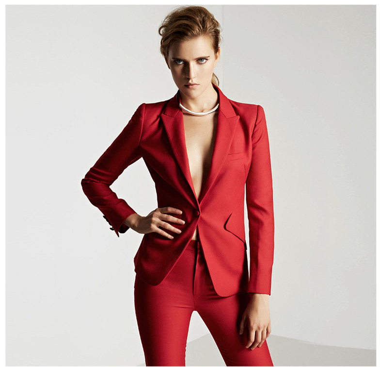 Online Get Cheap Red Business Suit Women -Aliexpress.com | Alibaba