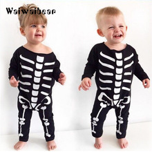 Halloween Baby Boys Girls Romper New Kids Costume Clothes Newborn Cotton Long-Sleeved Rompers For Newborns newborn weight and large for gestational age lga newborns