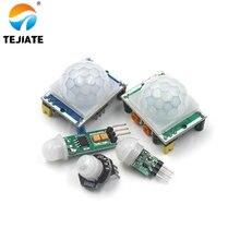 HC-SR501 HC-SR505 HC-SR602 HC-SR312 AM312 Отрегулируйте пироэлектрический инфракрасный Мини PIR модуль движения Сенсор детектор модульный кронштейн
