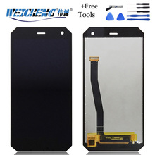 WEICHENG LCD For DEXP Ixion P350 Tundra LCD Display Touch Screen Digitizer Assembly Mobile