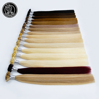 Fairy Remy Hair 20 inch 100% Real Remy Human Hair Extensions U Tip Platinum Blonde Natural Colored Strands Of Hair Capsule 40g