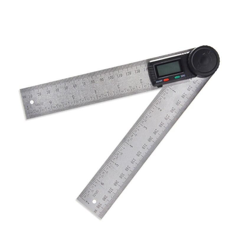 360° Digital Angle Finder Goniometer Protractor Angle Gauge Ruler