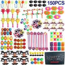 150 Pcs Birthday Pinata Fillers Assorted Small Toys Set Kids Toy Prizes Game Party Supplies Giveaways Prizes Party Gift Favors(China)
