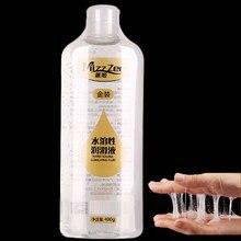 MizzZee 400 мл обновления Золотой смазка для секса сглаживания блеск массаж гель анальный смазки интимные товары секс игрушки для взрослых