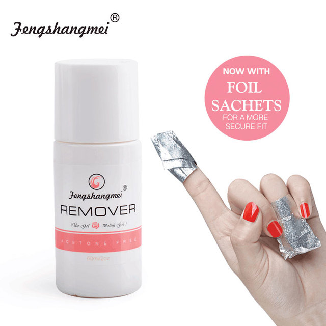 fengshangmei 60ml Liquid for Removing Gel Varnish Removal Nail ...