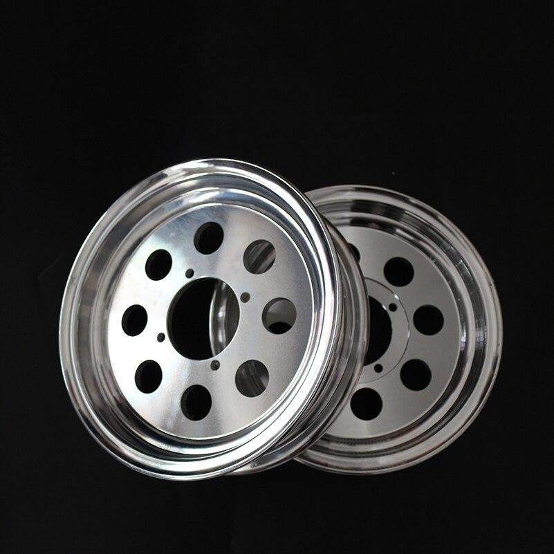 Automobile & Motorräder Räder & Felgen Rund Hinten Rad Hilfs Elektrische Aluminium Legierung Pneumatische Reifen Hub 3,50-10 Für Roller Dreirad