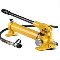Ręczna pompa hydrauliczna CP-700 może pracować z do zaciskania głowy  naciskając głowy i głowica tnąca ciśnienia 700 kg/cm2