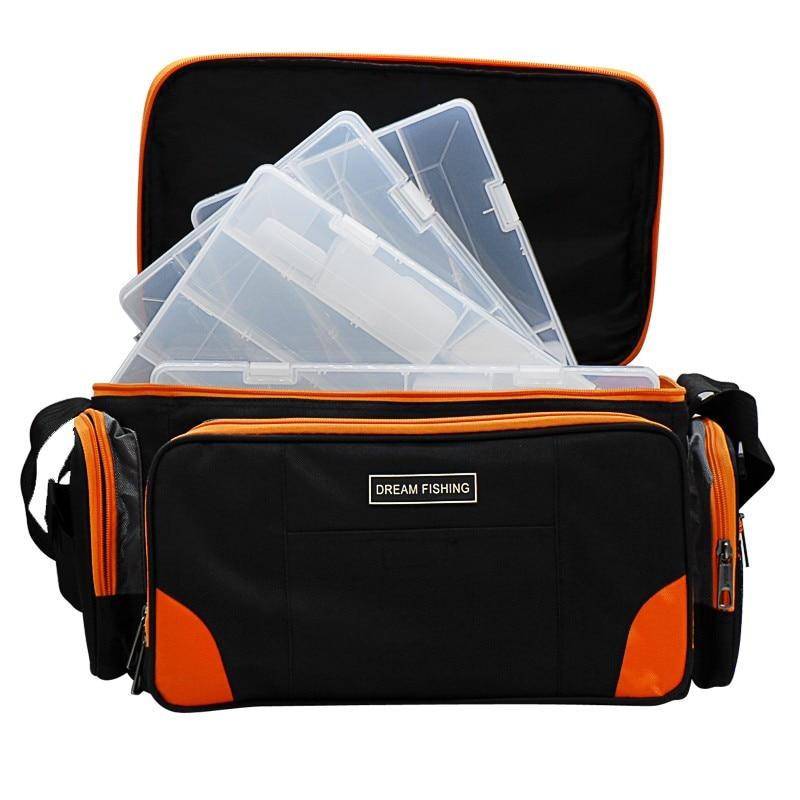 Multifunctional Fishing Bag 37*23*24cm Large Capacity Fishing Tackle Backpack Sac De Peche Bolsa De Pesca <font><b>Carp</b></font> <font><b>Carp</b></font> Acessorios