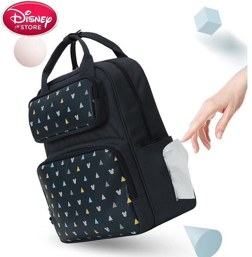 Disney Mummy Maternity Nappy Bag Large Capacity Travel Backpack Nursing Bag Baby Diaper Bags