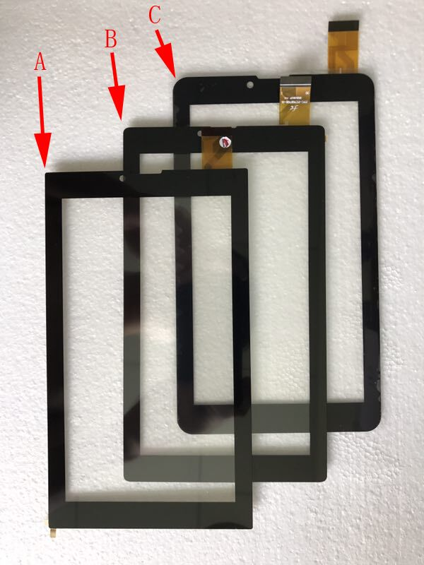 1$ A+ 7''Protective film/ Touch Screen Panel Sensor for Digma Optima 7.21 3G TT7021PG FPC-FC70S706-01 YLD-CEG7253-FPC-A0