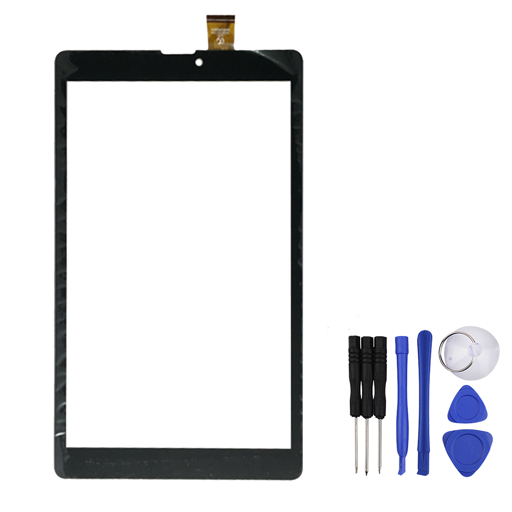 8 inch Touch Screen for  MultiPad PMT3308 WIZE 3308 3G Tablet Panel Glass Digitizer Replacement with Free Repair Tools tsurinoya tsp2000 spinning fishing reel with spare spool 11 1bb 5 2 1 full metal jig boat lure reels carretes pesca molinete