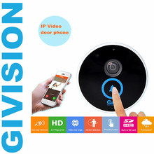 Wireless IP Video door phone intercom 720P HD 1.0MP IP Camera Outdoor WIFI IR night vision doorbell video doorphone SD TF Card