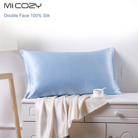 100 Mulberry Silk Single Pillowcase Charmeuse Satin Pillow Cover With Zipper