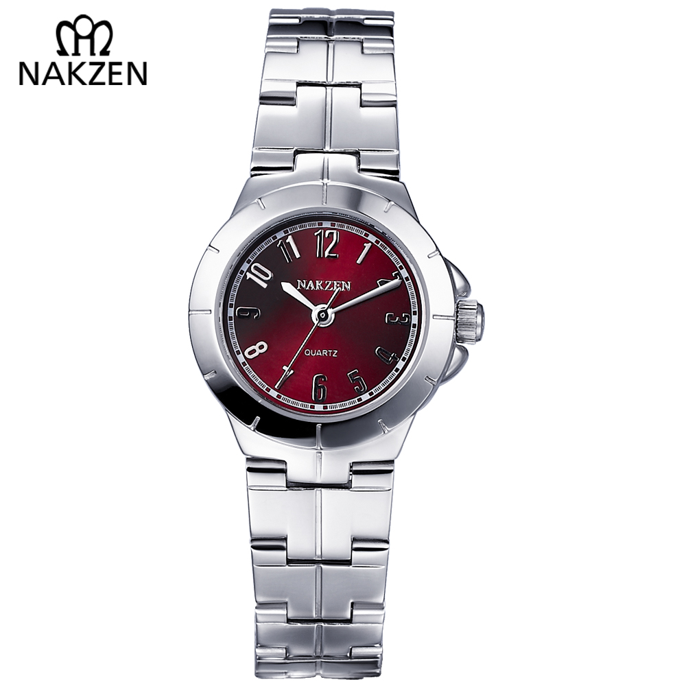 NAKZEN Women Watches 2018 Brand Fashion Small Wrist Watch Ladies Waterproof Bracelets Watch Clock Relogio Feminino JAPAN Quartz dwg brand new wooden watch japan quartz movement rhinestone ladies fashion brown wrist watches women cherry wood clock with box