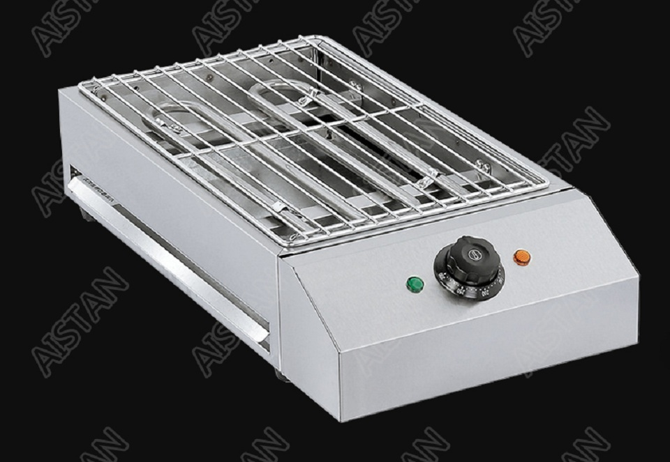 EB280 Electric Smokeless Barbecue Oven Grill for bbq machinery Stainless Steel High Power 13