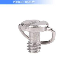 Image 2 - Kaliou Photo Studio accessoires plaque de fixation rapide 1/4 vis précision petit c ring d ring vis pour trépied de caméra monopode