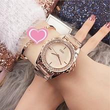 цена Dropshipping New 2019 Water Resistant Fashion Casual Luxury Designer Ladies Shining Diamond Elegant Women Quartz Watch онлайн в 2017 году