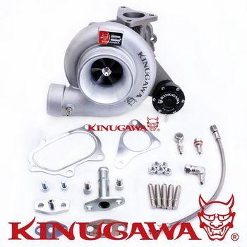 "Kinugawa Turbocharger 4"" T67-25G 7cm Oil-Cooled for SUBARU WRX STI"